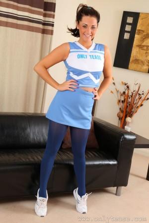 VOL.260 [OnlyTease丝袜] Daisy Watts《运动装+蓝色丝袜》超高清写真图片