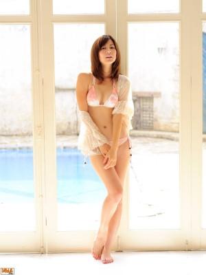 VOL.117 [Bomb.TV]清新妹子嫩模D罩杯美女:杉本有美超高清写真套图(40P)