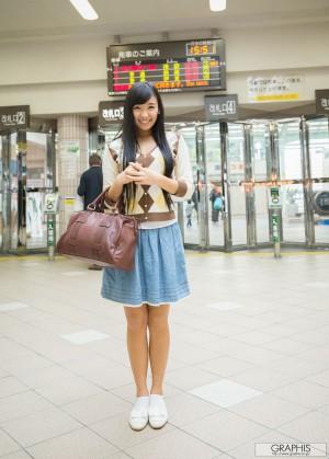 VOL.566 [Graphis]日本萌妹子女艺人清纯少女:小仓奈奈(小仓奈々)超高清写真套图(27P)