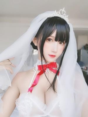 VOL.1843 [网络美女]婚纱:三度_69(Coser三度_69)超高清写真套图(24P)