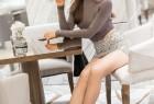 VOL.771 [爱蜜社]包臀裙美女长腿美女性感女郎:Vanessa超高清写真套图(54P)