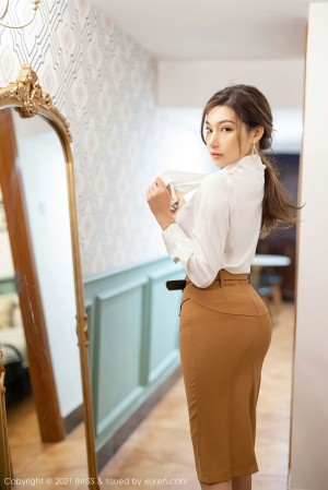 VOL.1140 [爱蜜社]美腿翘臀优雅美女:小狐狸Sica(小狐狸Kathryn)超高清写真套图(74P)
