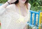 VOL.163 [模范学院]比基尼清新大胸女神外拍:夏茉(夏茉GIGI)超高清写真套图(51P)