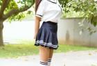 VOL.851 [网红馆]清纯少女学生装:林美惠子(林美惠子Mieko)超高清写真套图(39P)