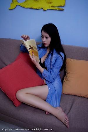 VOL.73 [推女神]牛仔居家美女妹子:赵小米(赵小米Kitty)超高清写真套图(71P)