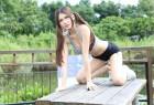 VOL.1452 [台湾正妹]热裤运动装清新:蔡译心(Candice)超高清写真套图(98P)