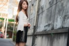 VOL.1700 [台湾正妹]正妹街拍短裙迷你裙:张嘉庭(啾比特)超高清写真套图(56P)