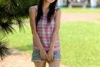 VOL.188 [网络美女]热裤牛仔阳光正妹:张凯洁(张允霏,果子MM)超高清写真套图(50P)