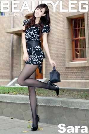 VOL.599 [Beautyleg]丝袜美腿黑丝街拍黑丝街拍美腿:林瑞瑜(Beautyleg Sara,腿模Sara)超高清写真套图(49P)
