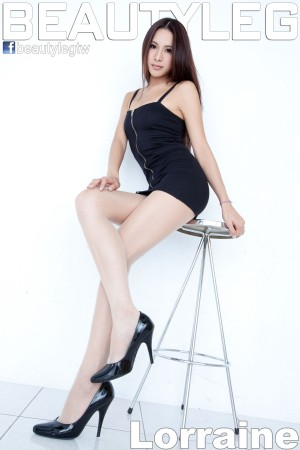 VOL.1642 [Beautyleg]美腿:腿模Lorraine超高清写真套图(40P)